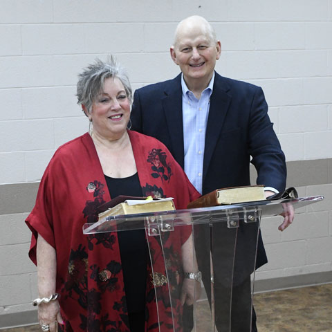 Pastor David and Karen Odem